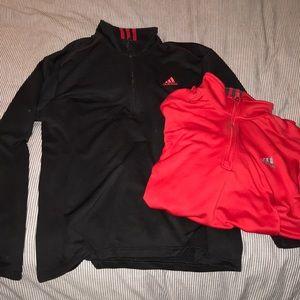 Adidas Half Zips